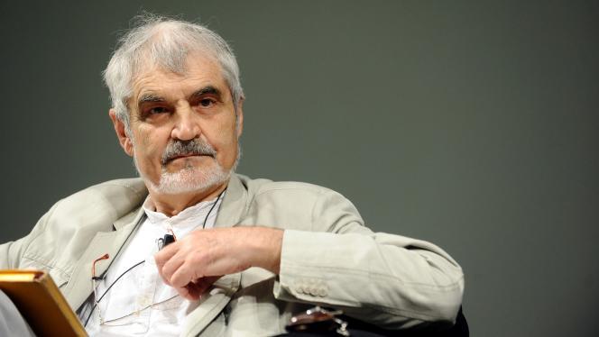Serge Latouche au Festival of Economics à Trente, en Italie, en 2012.