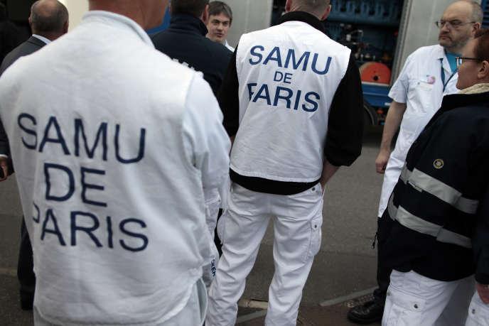 En mai 2015, à Paris.