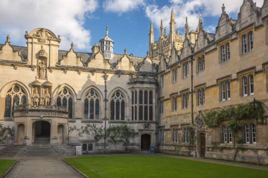 L'université d'Oxford, l'un des plus prestigieux établissements britanniques.