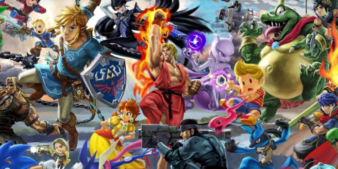 On A Teste Super Smash Bros Ultimate L Orgie De Clins D œil
