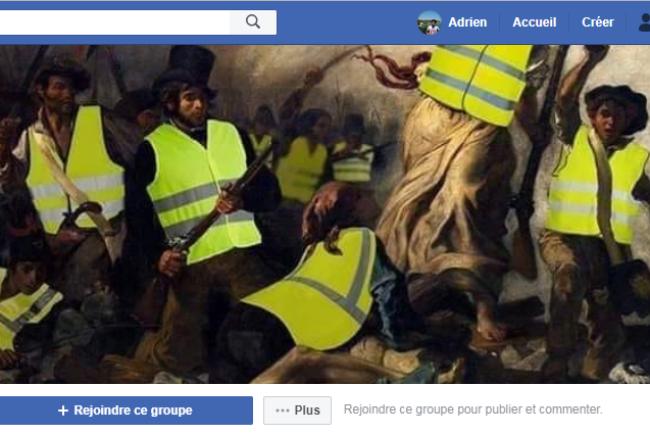 Les groupes Facebook sont rapidement devenus le mode de communication privilégiés des« gilets jaunes».