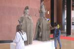 L'une des oeuvres exposées auMusée des civilisations noires, Dakar, 6 décembre 2018.