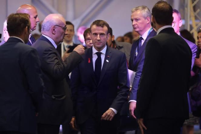 Emmanuel Macron lors du sommet du G20, à Buenos Aires, le 1er décembre.