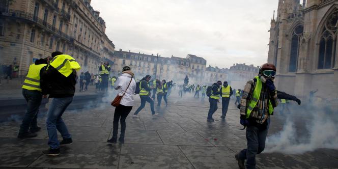 A Bordeaux, samedi 8 décembre.