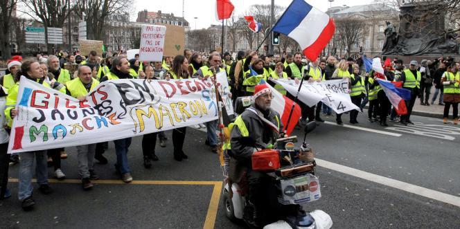 A Lille, samedi 8 décembre.