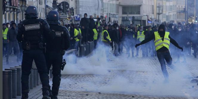A Marseille, samedi 8 décembre.