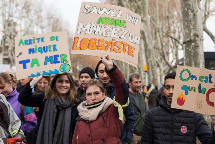 Marche pour le climat, à Toulouse, le 8 décembre.