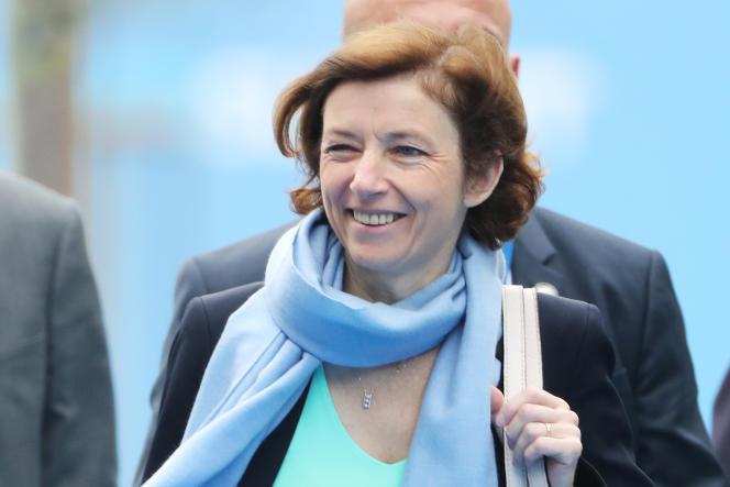 La ministre française des armées Florence Parly, à Bruxelles, le 12 juillet 2018.