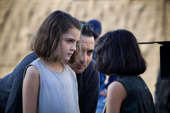 Ludovica Nasti (Lila enfant), le réalisateur Saverio Costanzo, Elisa Del Genio (Elena enfant)
