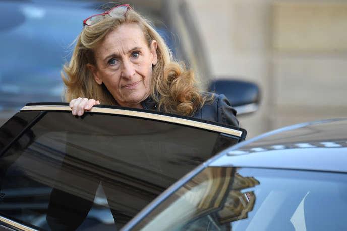 La garde des sceaux Nicole Belloubet, le 21 novembre à l'Elysée.