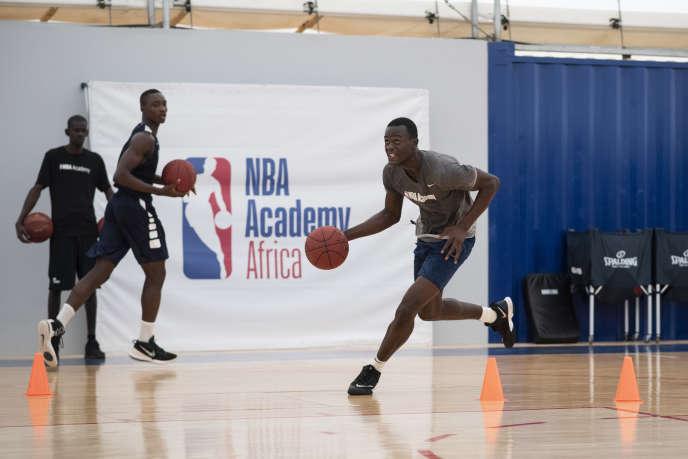 75a2844df Au Sénégal, la NBA lance sa première académie de basket en Afrique