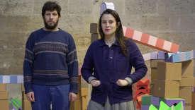 Avec leurs objets intuitifs, Marion Pinaffo et Raphaël Pluvinage veulent provoquer l'engagement du public et stimuler son imaginaire.