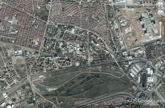 Une installation des services de renseignements turcs (Google Earth)