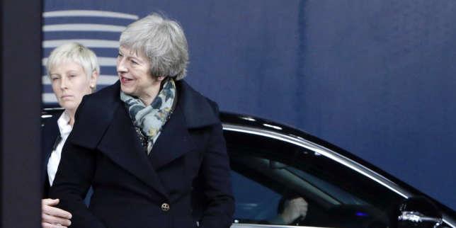 La première ministre Theresa May, à Bruxelles, le 11 décembre 2018.