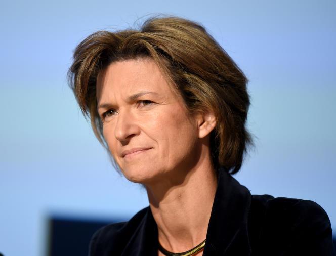 Isabelle Kocher, directrice générale du groupe Engie (ex-GDF Suez), à Paris, le 1er octobre.