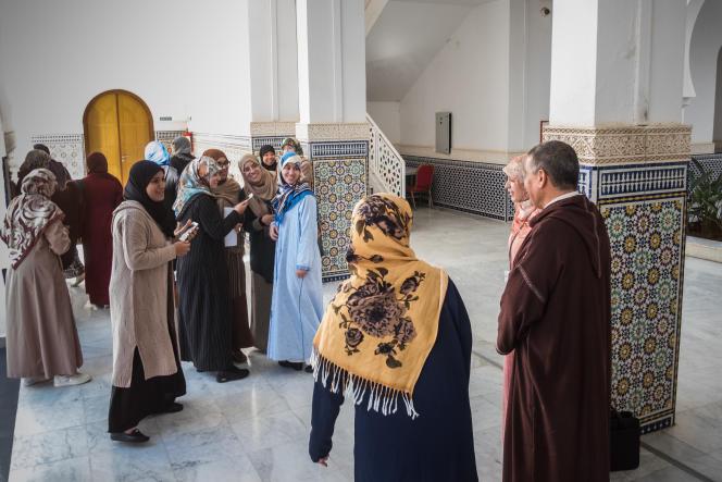 L'institut Mohammed VI, en plein cœur de Rabat, accueille 1 400 élèves formés pour devenir les futurs cadres du culte musulman sunnite.