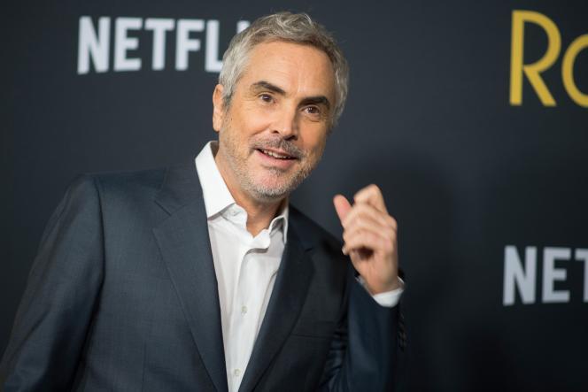 Le réalisateur mexicain Alfonso Cuaron lors de la première de son film« Roma» à Los Angeles, le 10 décembre 2018.