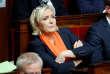 Marine Le Pen, dirigeante du Rassemblement national, parti d'extrême droite,lors dela session de questions au gouvernement, à l'Assemblée nationale, le11décembre2018.