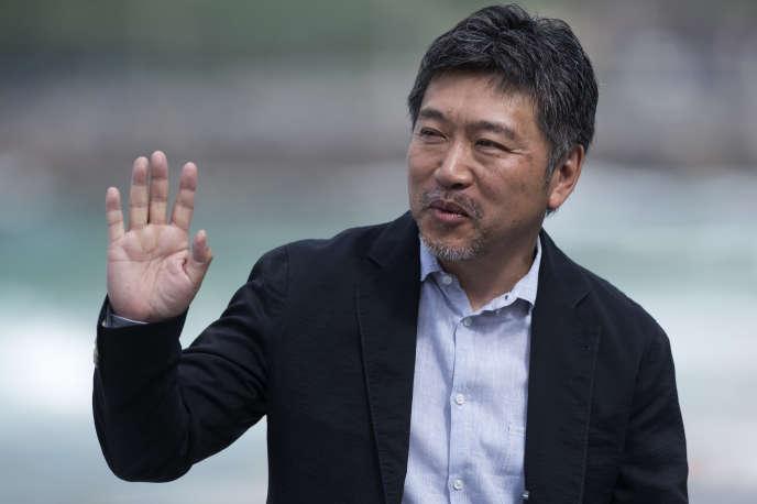 Le réalisateur japonais Hirokazu Kore-eda lors du Festival du film de Saint-Sébastien (Espagne), le 23 septembre 2018.