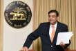 Le gouverneur démissionnaire de la banque centrale indienne, Urjit Patel, à Bombay, en juin.