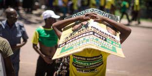 Meeting de soutien àNkosazana Dlamini-Zuma lors de la campagne pour la présidence de l'ANC, à Durban, le 9 décembre 2017.