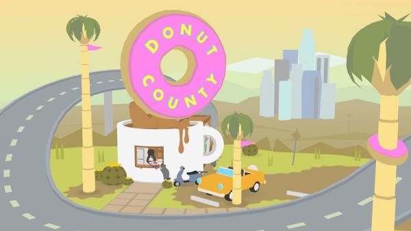 95e place pour« Donut County», jeu où l'on incarne un trou qui veut engloutir LosAngeles.