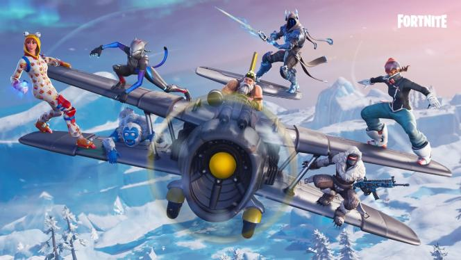 Illustration du jeu vidéo « Fortnite».