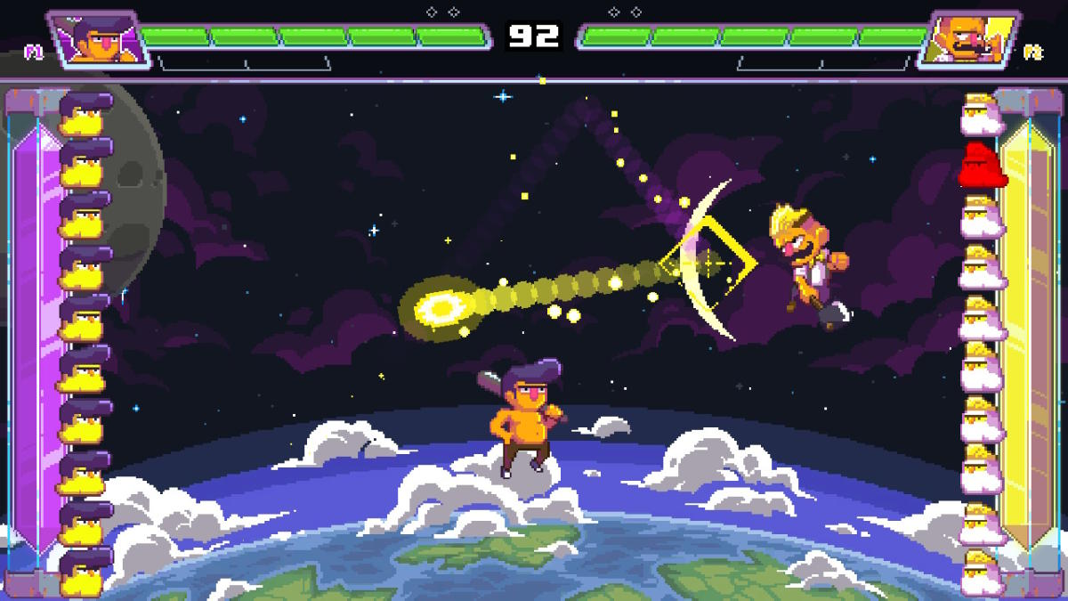 Oui, il y a «Ultra Space Battle Brawl», un kitschissime Pong-like indonésien, dans ce top100. Dealwithit.