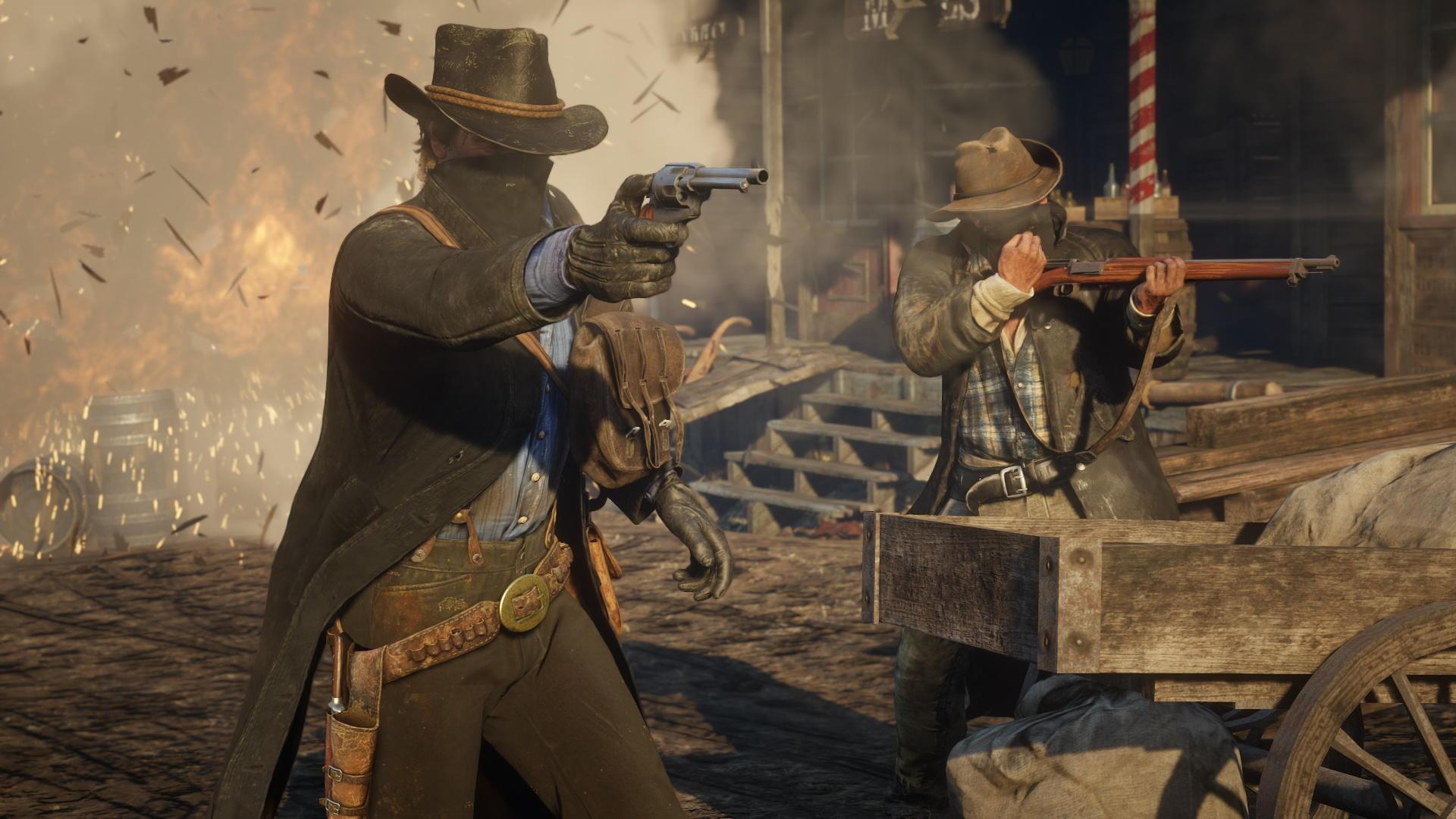 Monumental mais pas exempt de défaut, «Red Dead Redemption II» échoue au pied du podium.
