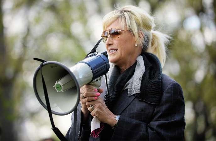 Erin Brockovich(ici, en 2014) lutte contre les industriels pollueurs depuis vingt ans.