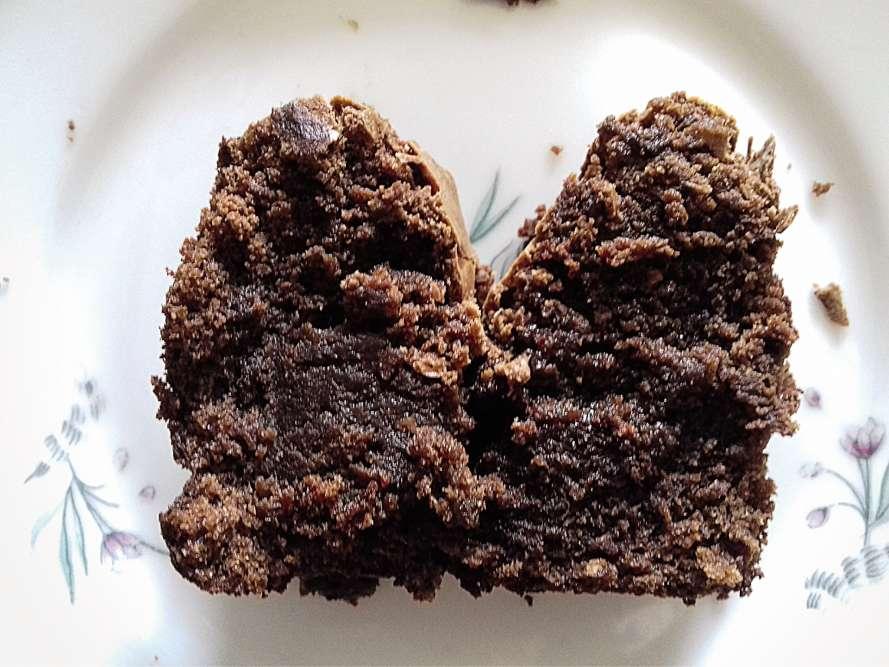 « Un gâteau au chocolat au sortir du four...»