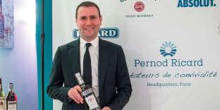 Alexandre Ricard, PDG du groupe Pernod Ricard, à Paris, en août 2017.