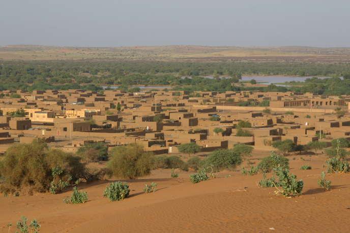 La ville de Ménaka, au Mali, en 2007.