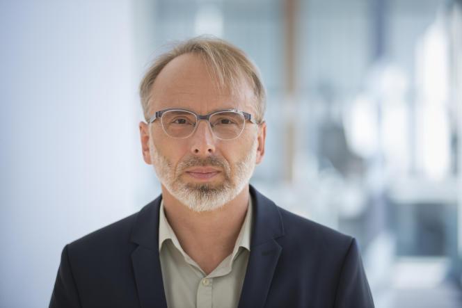 Olivier Schröm, rédacteur en chef du site d'investigation allemand «Correctiv».