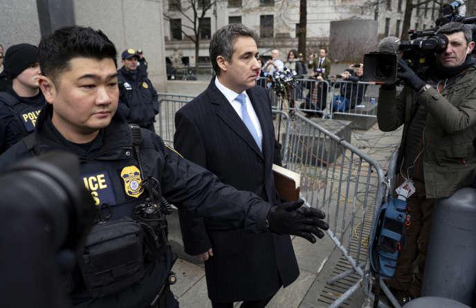Michael Cohen à la sortie du tribunal fédéral de Manhattan, le 12 décembre 2018.