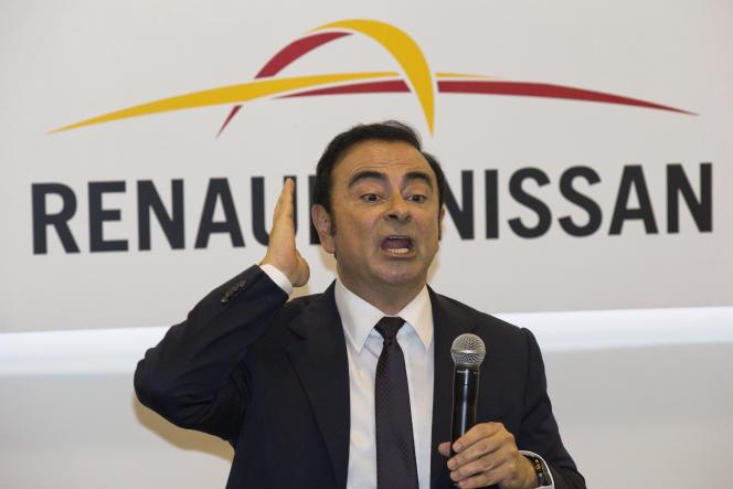 Le PDG de Renault-Nissan, Carlos Ghosn, le 25 avril 2016 à Pékin.