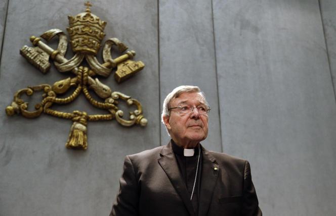 Le cardinal George Pell, écarté du cercle de proches conseillers du pape François, au Vatican, le 29 juin.
