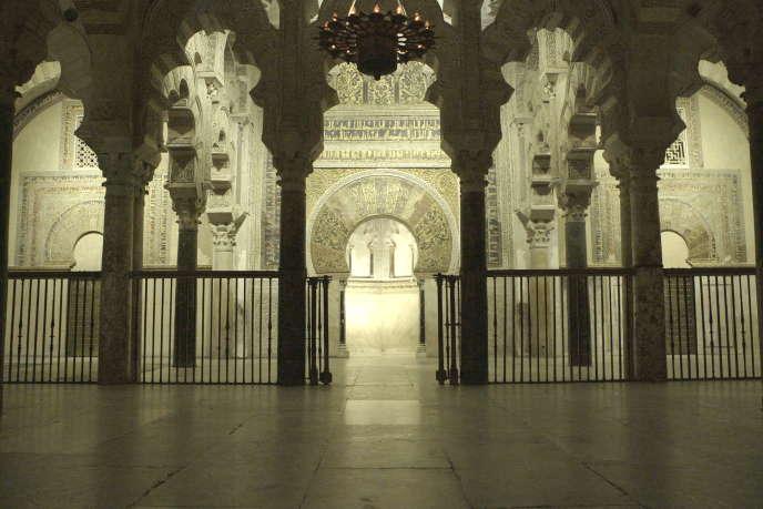 Intérieur de la mosquée-cathédrale de Cordoue, en Espagne.