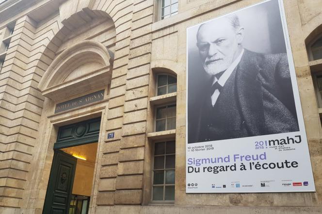 L'exposition« Sigmund Freud. Du regard à l'écoute», au Musée d'art et d'histoire du judaïsme, jusqu'au 10 février.