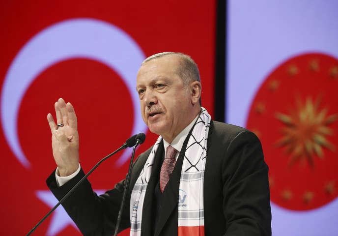 Le président turc Recep Tayyip Erdogan, le 14 décembre à Istanbul.