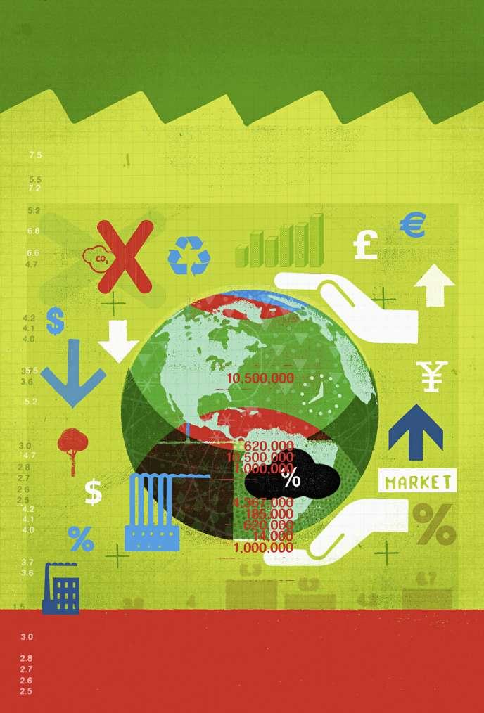 Les fonds qui investissent dans l'environnement perdent en moyenne 5,86 % sur un an mais affichent un gain annuel de 5,47 % sur cinq ans.