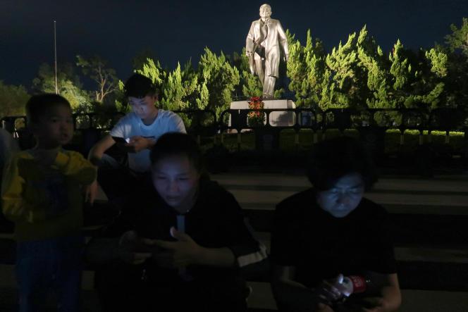 La statue de Deng Xiaoping à Shenzhen, en décembre 2018.