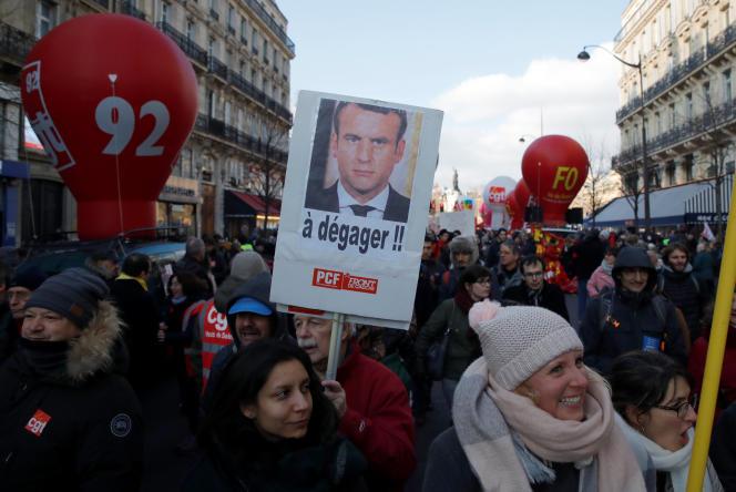Lors de la précédente mobilisation, le 14 décembre, la CGT avait dénombré 15 000 manifestants à Paris, la préfecture de police en comptant 6 000.