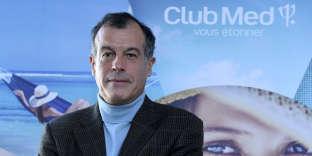Le PDG du Club Med, Henri Giscard d'Estaing, à Paris, en janvier 2017.