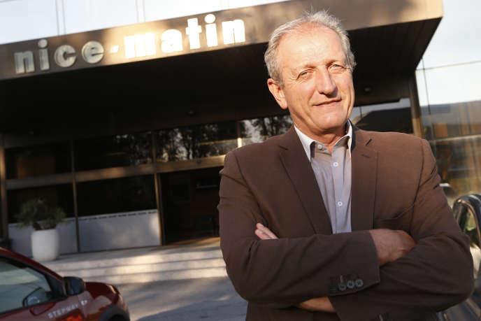 Jean-Marc Pastorino, le patron de «Nice-Matin», à Nice, le 11 septembre 2015.