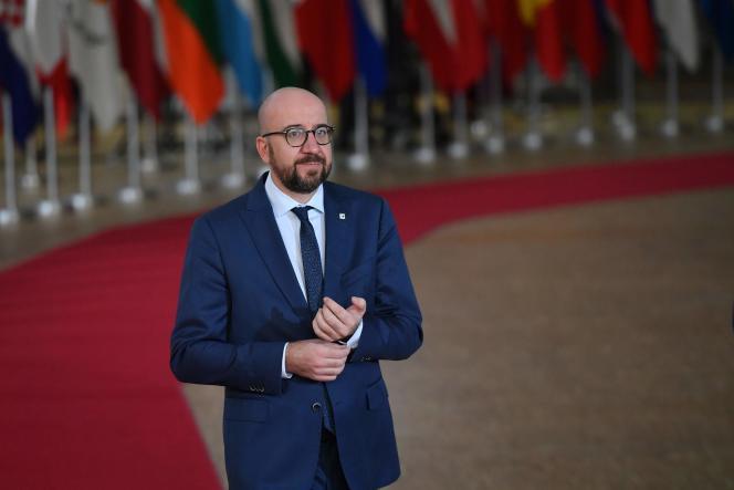 Le premier ministre belge, Charles Michel, à Bruxelles le 14 décembre.