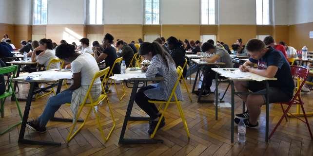L'épreuve de philosophie de la session 2018 du baccalauréat, au lycée Pasteur de Strasbourg, en juin.