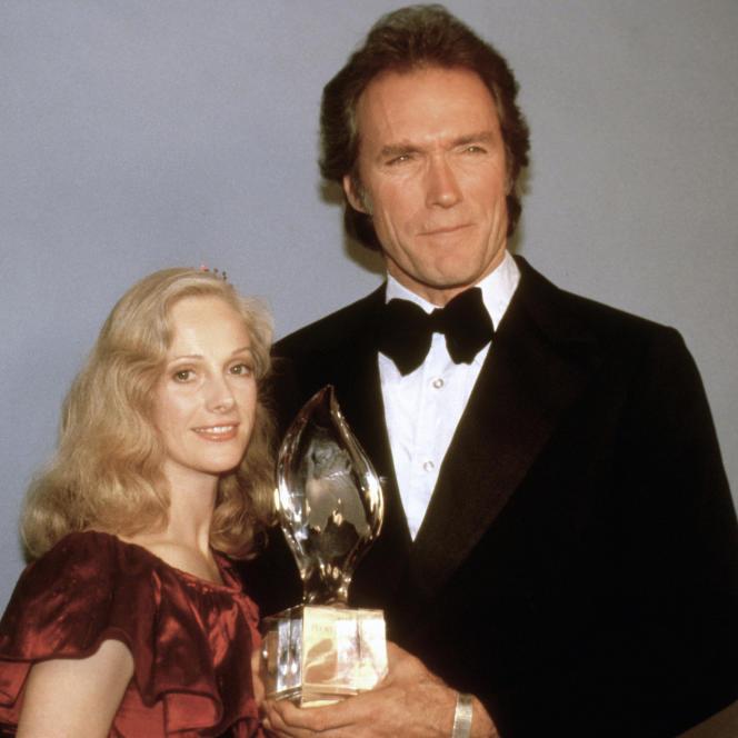 Sondra Locke et Clint Eastwood à Los Angeles en mars 1981.