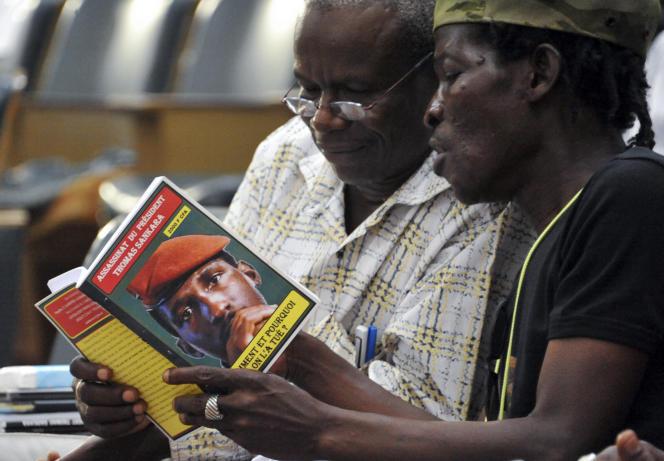 Il y a trente ans, Thomas Sankara mourait. A Ouagadougou lors de la commémoration du destin tragique du révolutionnaire en octobre 2017.