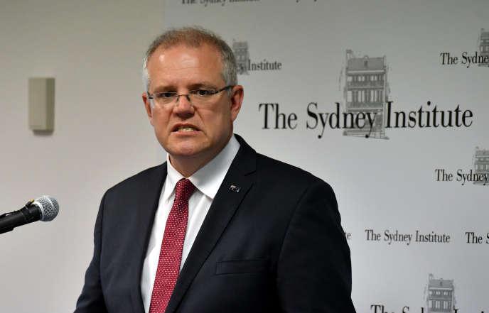 Scott Morrison, le premier ministre australien, à Sydney, le 15 décembre.